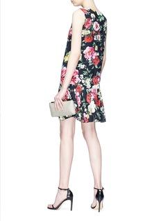 Dolce & Gabbana Floral print cady A-line dress