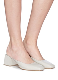 LOQ 'Vale' leather mules