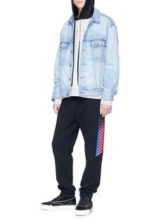 Alexander Wang  'AWG' stripe outseam sweatpants