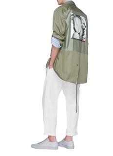 Pablo Rochat 'Hey Boo 1953' print oversized shirt jacket