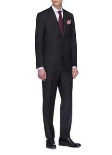 ISAIA 'Gregory' wool twill suit