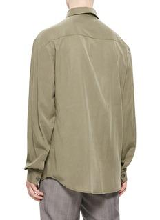 JUN by YO 拉链衣襟衬衫