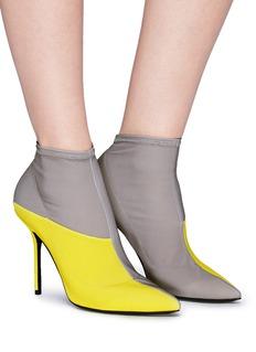 Pierre Hardy 'Kelly' colourblocked mesh boots