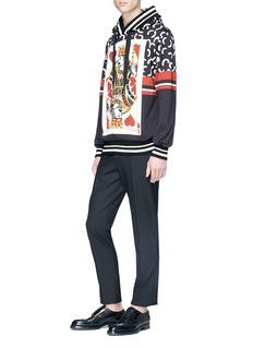 Dolce & Gabbana 'Poker Card' print hoodie