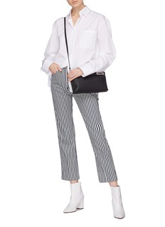 rag & bone/JEAN Stripe straight leg pants