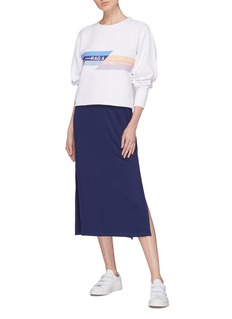 rag & bone/JEAN 'Glitch' logo print sweatshirt