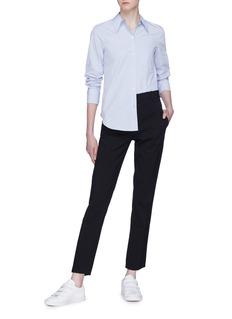 Theory Patch pocket cotton poplin shirt