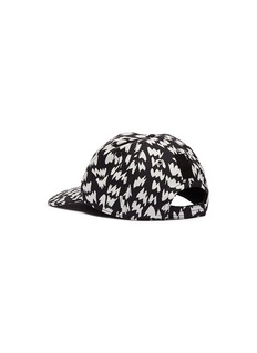 Dolce & Gabbana Sacred heart appliqué graphic print baseball cap