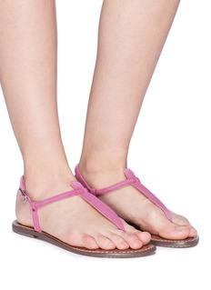 Sam Edelman 'Gigi' suede thong sandals