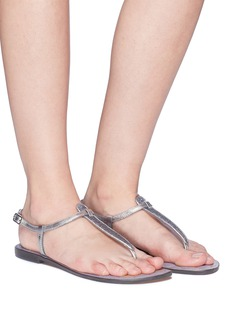 Sam Edelman 'Gigi' sequin leather thong sandals