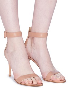 Gianvito Rossi 'Portofino' ankle strap leather sandals