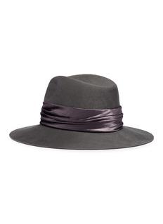 Eugenia Kim 'Georgina' velvet band wool felt fedora hat