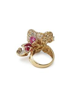 Anabela Chan 'Blossom' diamond gemstone ring