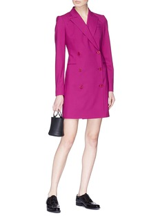 Theory Double breasted blazer dress