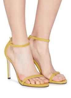 Stuart Weitzman 'Nudist Song' suede sandals