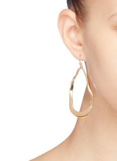 KENNETH JAY LANE 几何造型镀金金属吊坠耳环