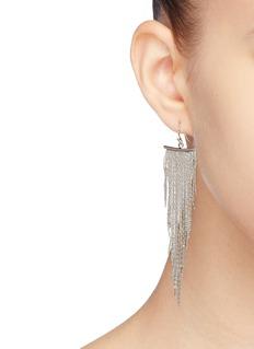 Kenneth Jay Lane Fringe drop earrings