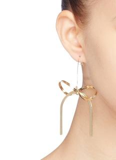 Kenneth Jay Lane Ribbon drop earrings