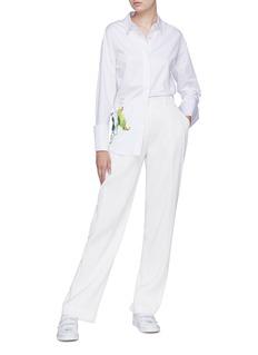 Patricia Iglesias 植物印花府绸衬衫