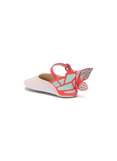 Sophia Webster 'Chiara Baby' butterfly appliqué glitter infant Mary Jane flats