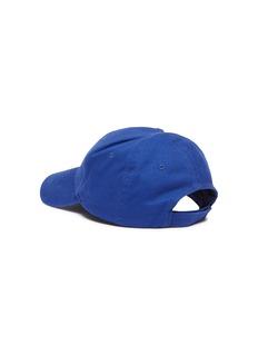 BALENCIAGA BB MODE刺绣斜纹布棒球帽