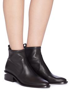 Alexander Wang  'Kori' cutout heel leather boots