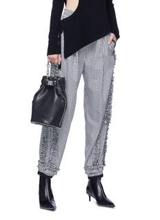 Alexander Wang  'Attica Dry Sack' ball chain trim leather crossbody bag