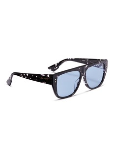 Dior 'Dior Club 2' detachable visor acetate D-frame sunglasses