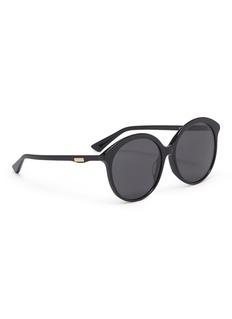 GUCCI 板材圆框太阳眼镜