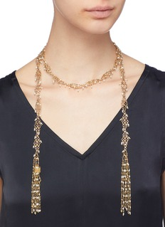 Rosantica 'Surreale' beaded wrap necklace