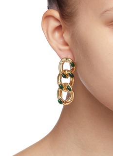 Rosantica 'Ingranaggio' chain link earrings