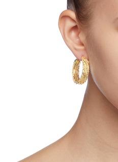 Rosantica 'Volutta' rope effect hoop earrings