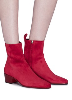 Pierre Hardy 'Reno' suede ankle boots