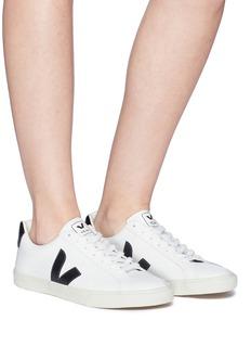 VEJA Esplar V字系带真皮运动鞋