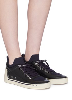 Ash 'Nippy' sock leather sneakers