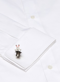 Deakin & Francis  'Rabbit in Hat' cufflinks