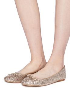 Sam Edelman 'Felicia' coarse glitter ballet flats