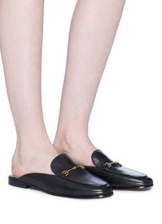 Sam Edelman 'Linnie' horsebit leather loafer slides