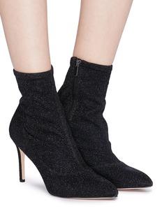Sam Edelman 'Olson' glitter knit ankle sock boots