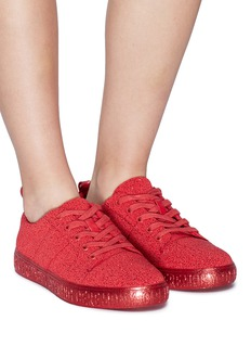 Opening Ceremony Detachable pompom beaded sneakers