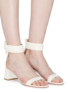 Aquazzura 'Palace' buckled ankle strap leather sandals