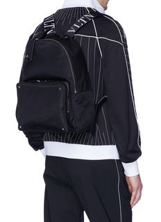 Valentino Logo strap backpack