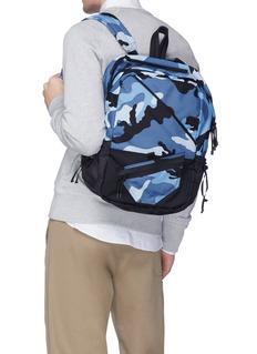 Valentino Camouflage print canvas rucksack