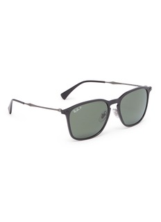 Ray-Ban 'Graphene' metal temple acetate wayfarer sunglasses