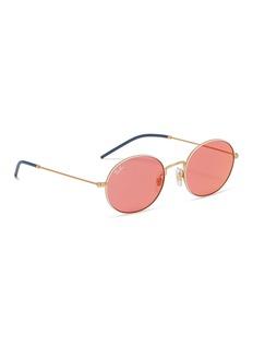 Ray-Ban 'RB3594' metal oval sunglasses