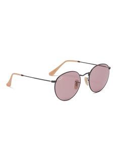 Ray-Ban 'Evolve' metal round sunglasses