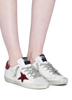 Golden Goose 'Superstar' brushed leather sneakers