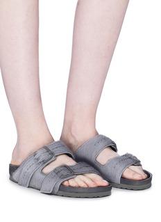 Rick Owens x BIRKENSTOCK 'Arizona' cow fur sandals