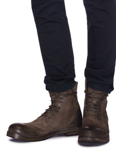 Marsèll 'Zucca Zeppa' leather combat boots