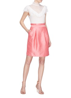 alice + olivia 'Toni' paperbag skirt